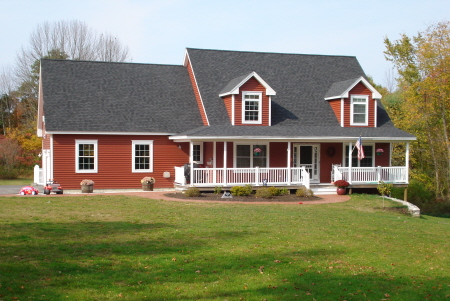 Cape cod home plan Keene